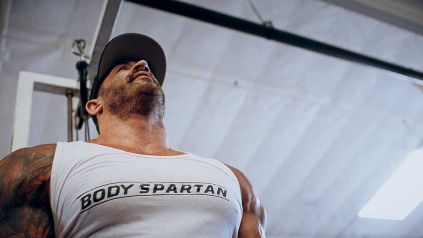 Monster shoulder workout from Body Spartan