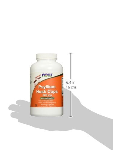 NOW Psyllium Husk 500 Body Spartan