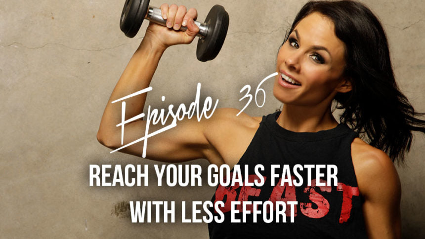Reaching goals faster with less effort