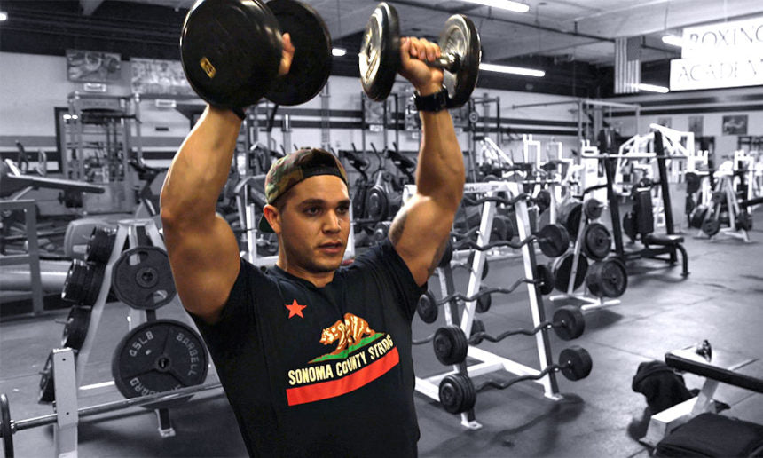 Shoulder workout Body Spartan with Brandon Griffith