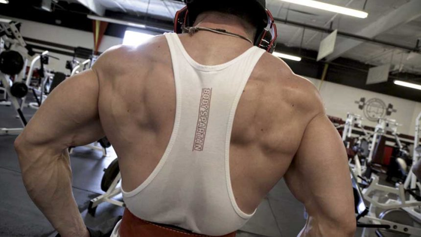 Shoulder and Traps workout with David Larson