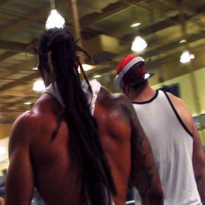 Training shoulders with Team Body Spartan