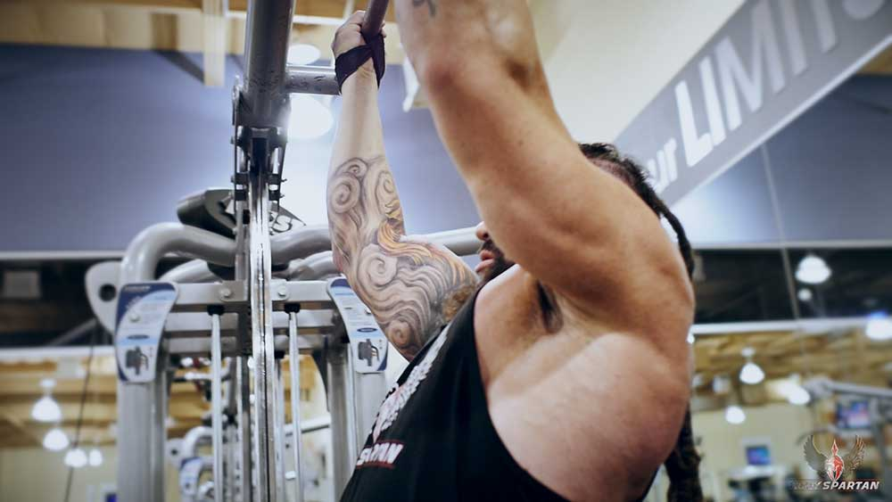 arm workout with super sets