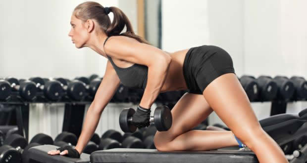 Dumbbell rows are part of a solid back workout