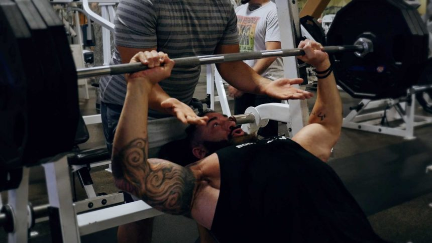 Incline Bench Press for chest workouts