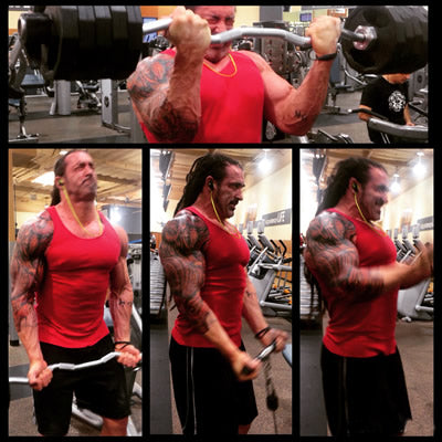 Bicep workout for huge arms