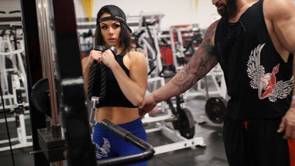 Biceps and arm workout Priscilla Tuft