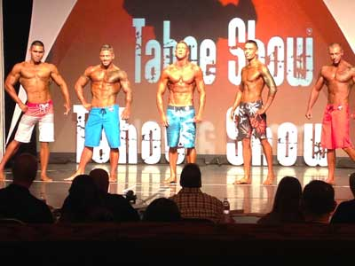 Howard Perry bodybuilding competitor