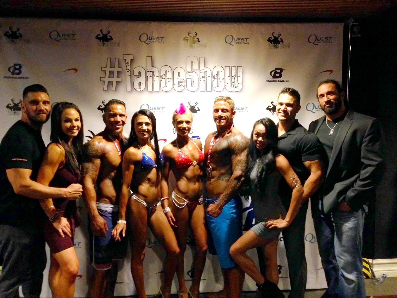 Bodybuilding Competition with Team Body Spartan