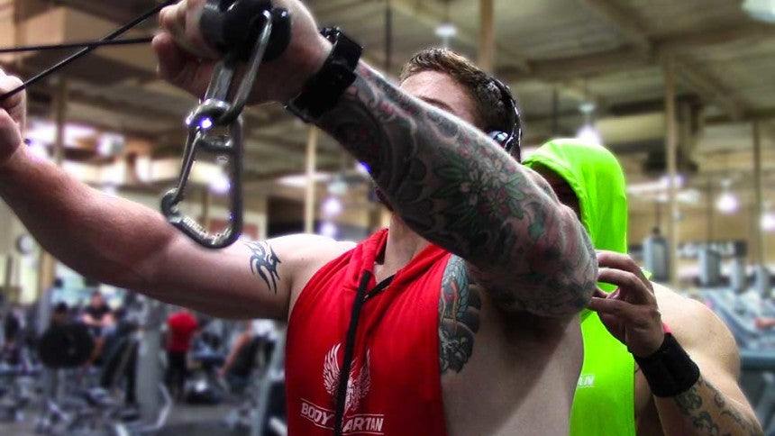 bodybuilding tips - the mind muscle connection trick