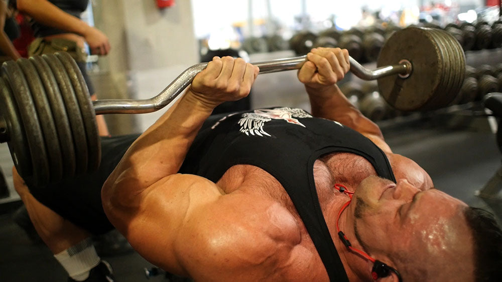 triceps chest press