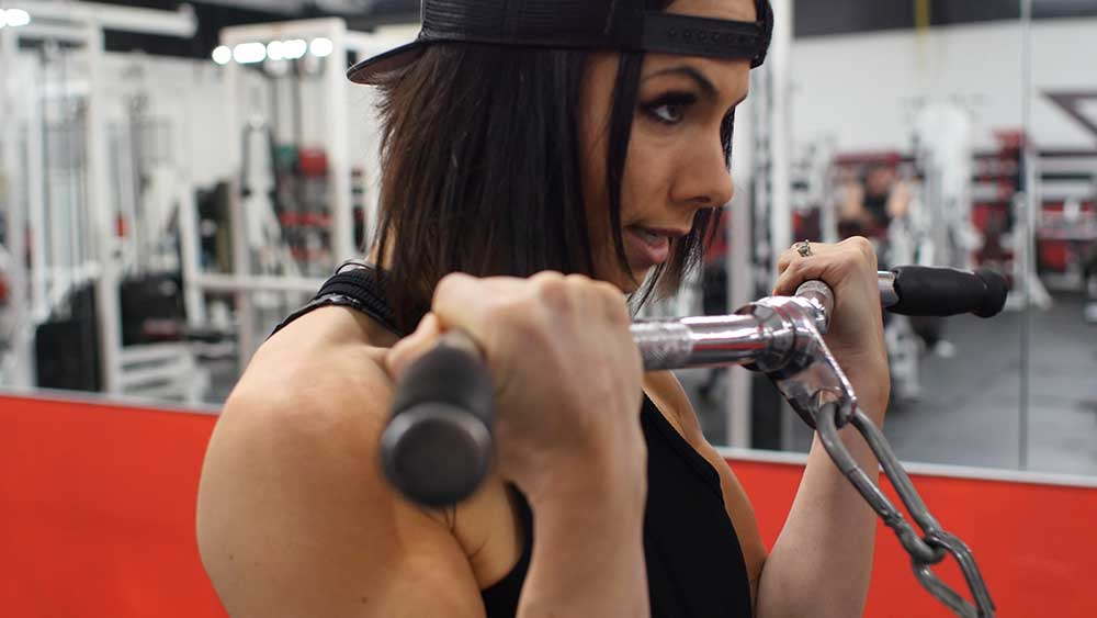 Arm workout with Priscilla Tuft