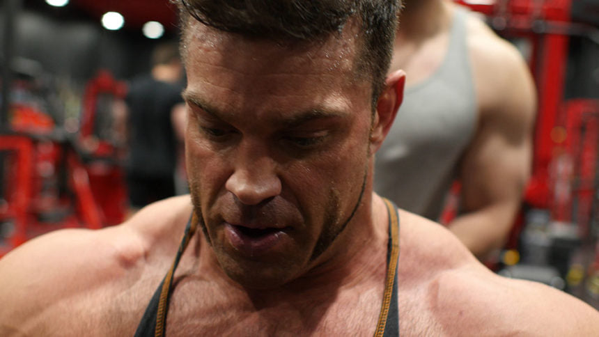 Gym motivation with Brian Cage