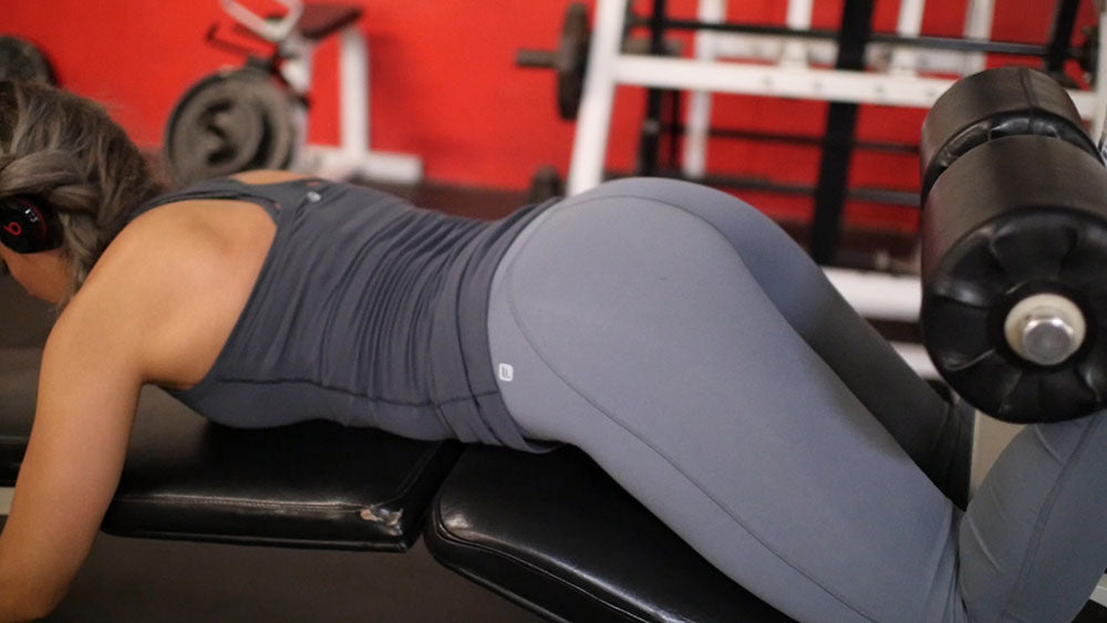 hamstring curl glute and hamstring workout
