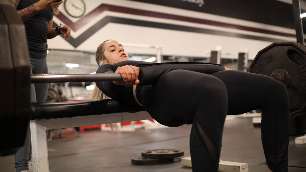 hip thrusters glute and hamstring workout