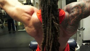 Lat Pulldown Position 2 for back workout