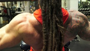 Lat Pulldown Position 1 for back workout