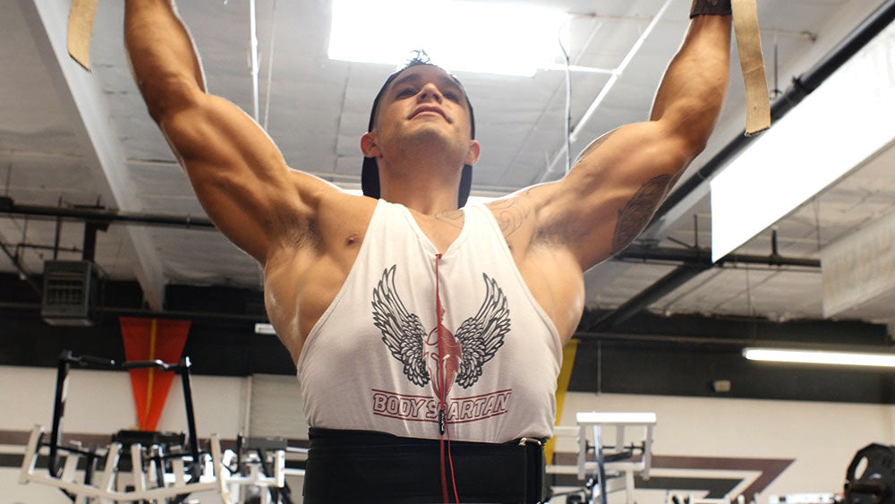 Pull ups back workout