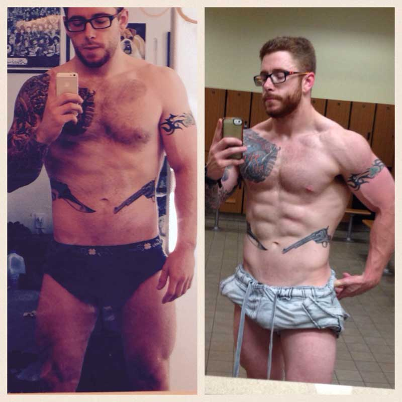 Results of custom meal plans