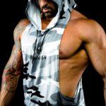 Sleeveless hoodie by Body Spartan