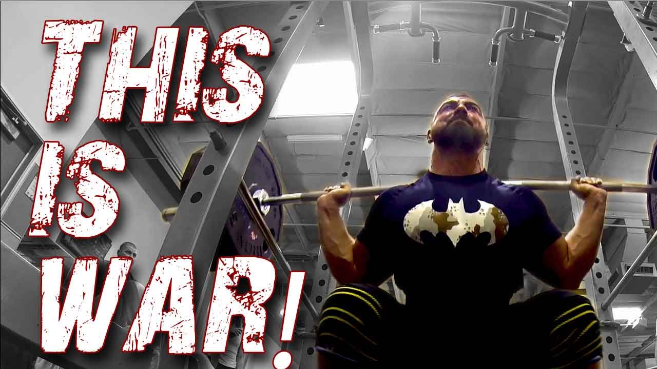 Squat motivation with the Body Spartan team