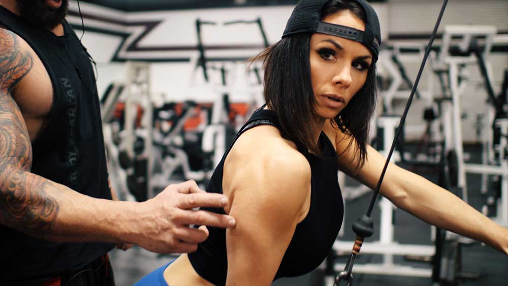 Triceps and arm workout for girls