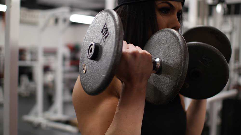 Arm workout for women with Priscilla Tuft
