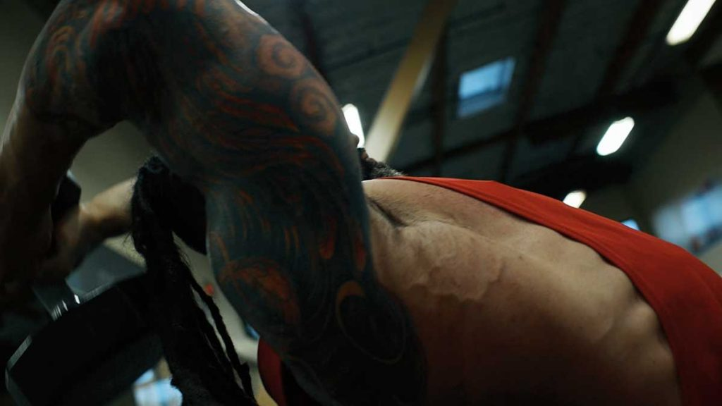 Triceps overhead extensions 01