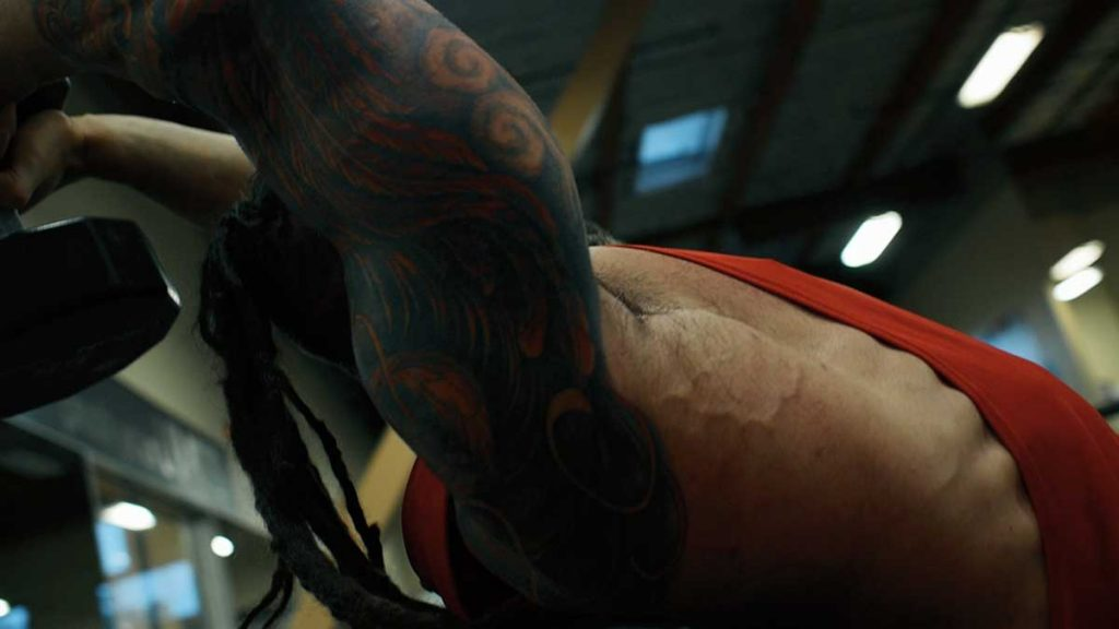 Triceps overhead extensions 02