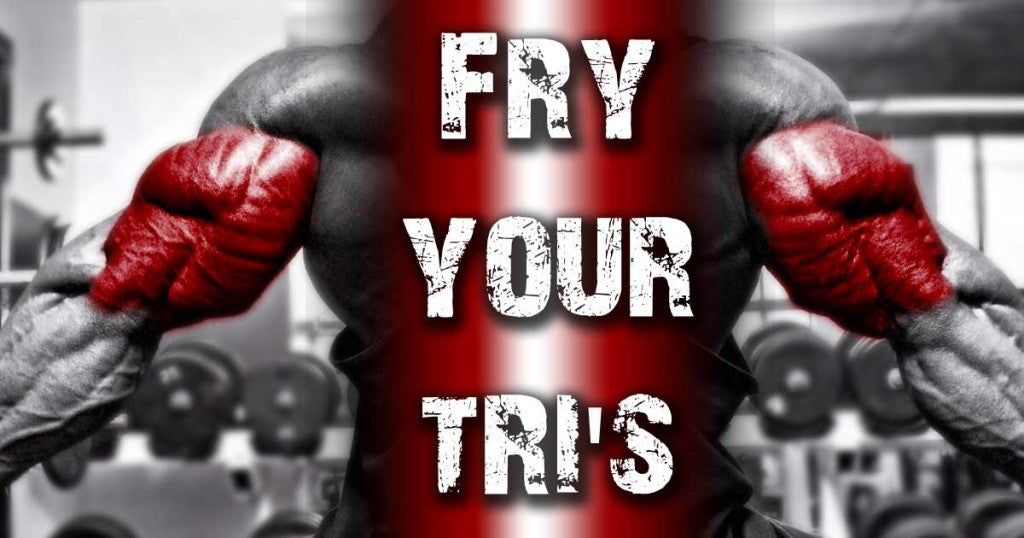 Triceps workout with supersets