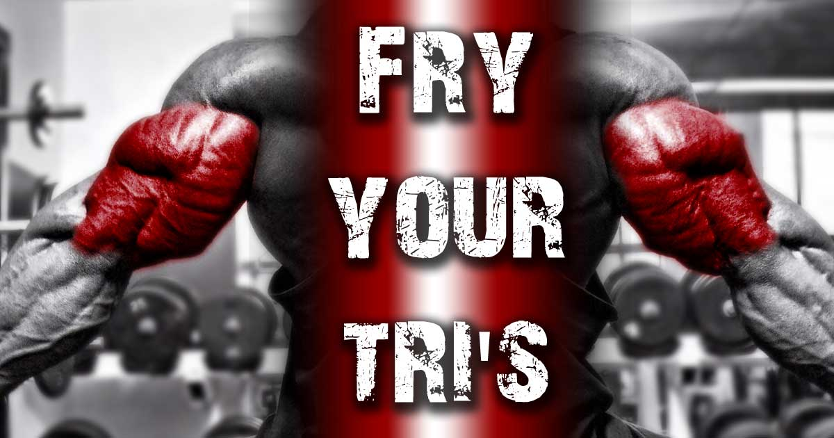 Triceps workout from Body Spartan