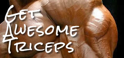 triceps workout using supersets