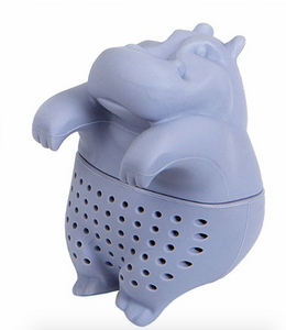 Pet-in-a-cup tea infuser