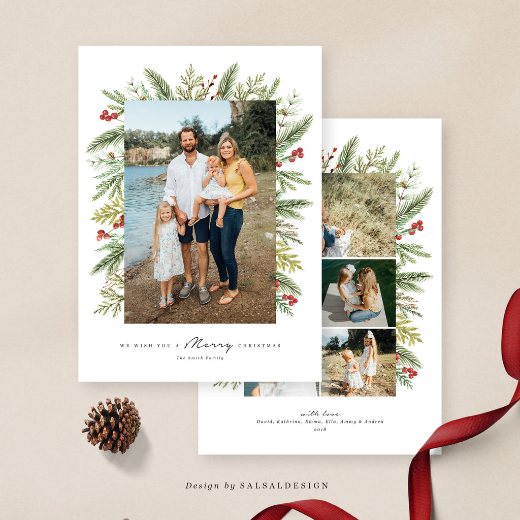 Christmas 5x7 Photo Card | Classic Magic - CD080