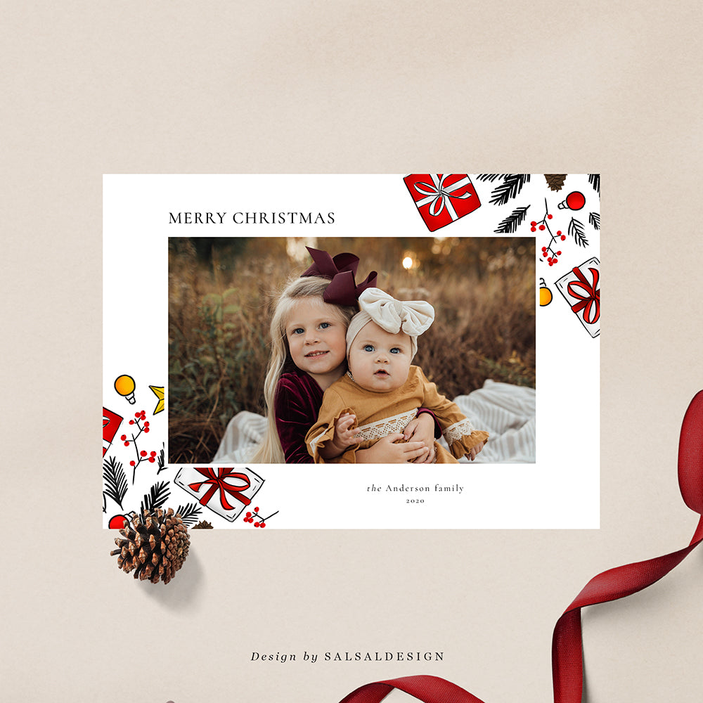 Christmas 5x7 Photo Card | Andersons - CD230