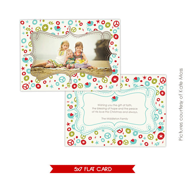 Holiday Photocard | Bohemian celebration e224