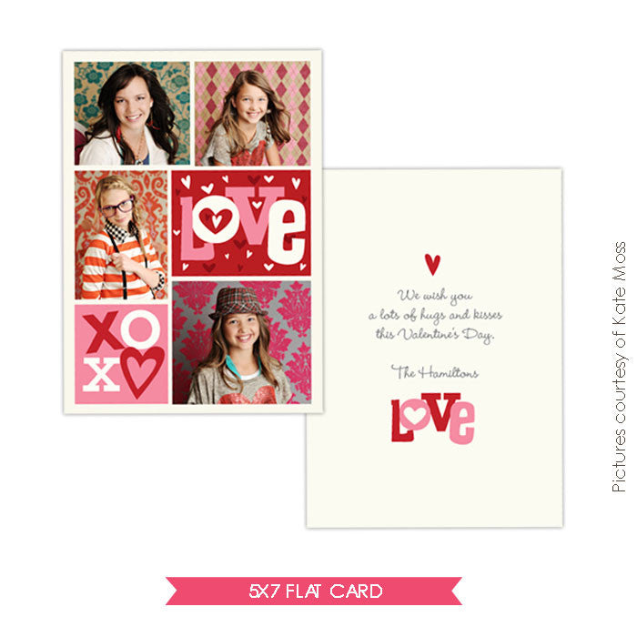 Valentine Photocard Template | Crazy love e297