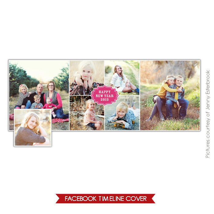 Facebook timeline cover | Year collage e644