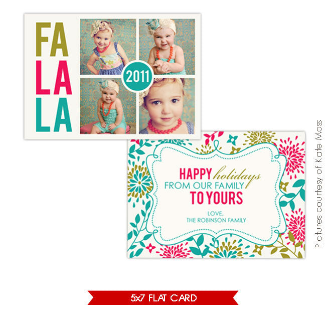 Holiday Photocard | Fa la la e209
