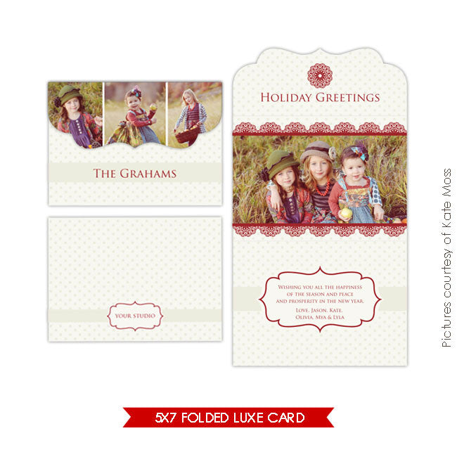 Holiday Ornate Photocard | Fall is coming e195