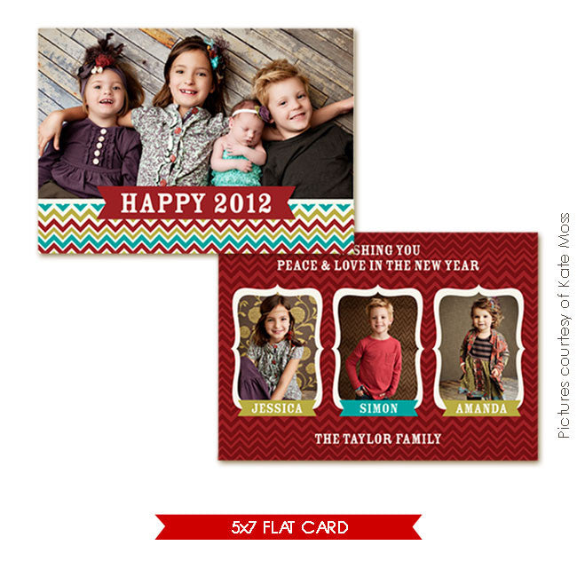 Holiday Photocard | Friends union e245