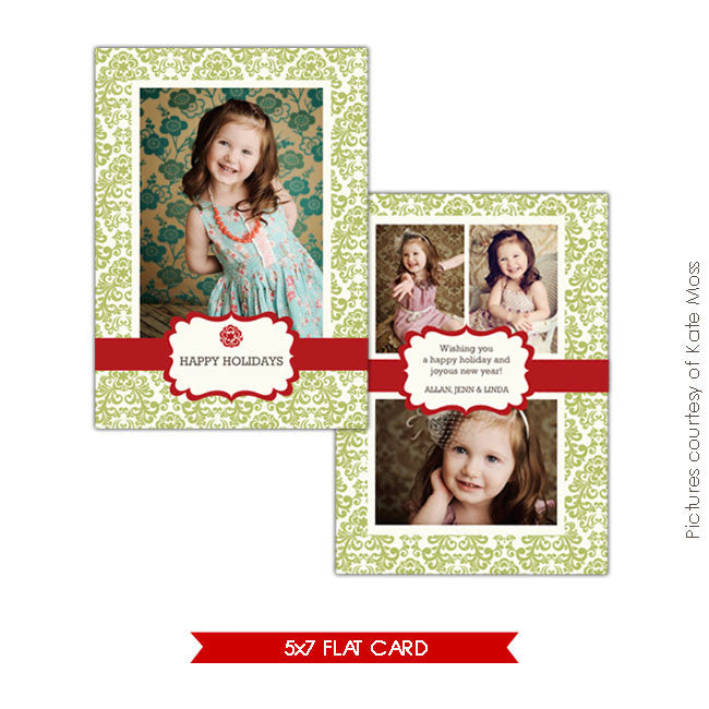Holiday Photocard | Fresh greetings e166