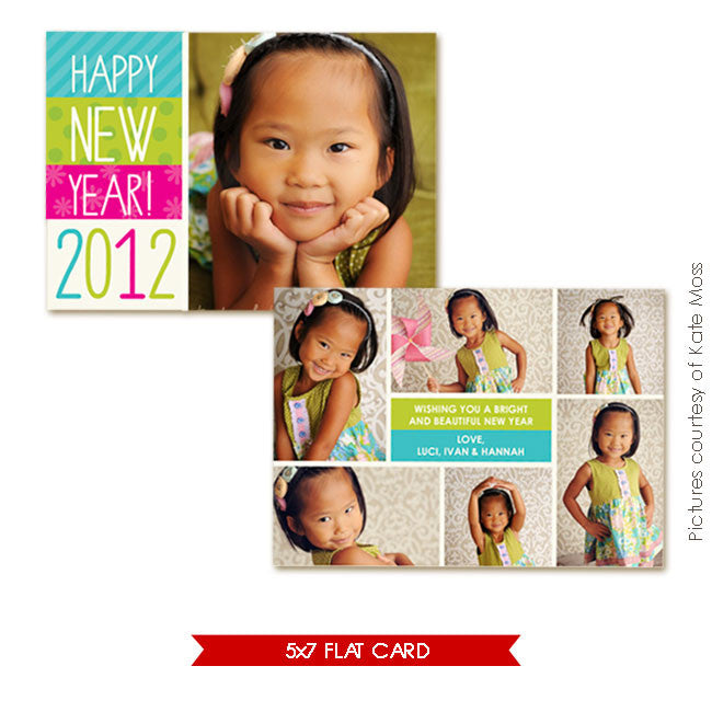 Holiday Photocard | Funny year e244