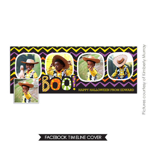 Facebook timeline cover | Happy Boo e537