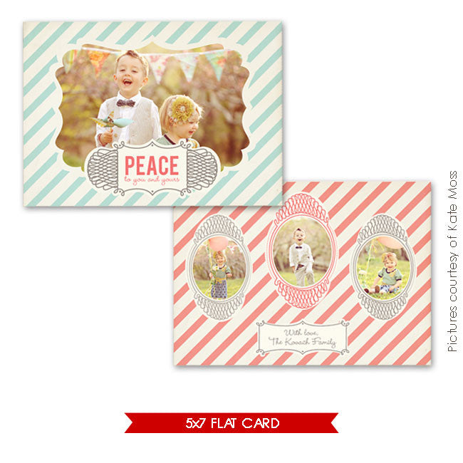 Holiday Photocard Template | Have fun Landscape e240