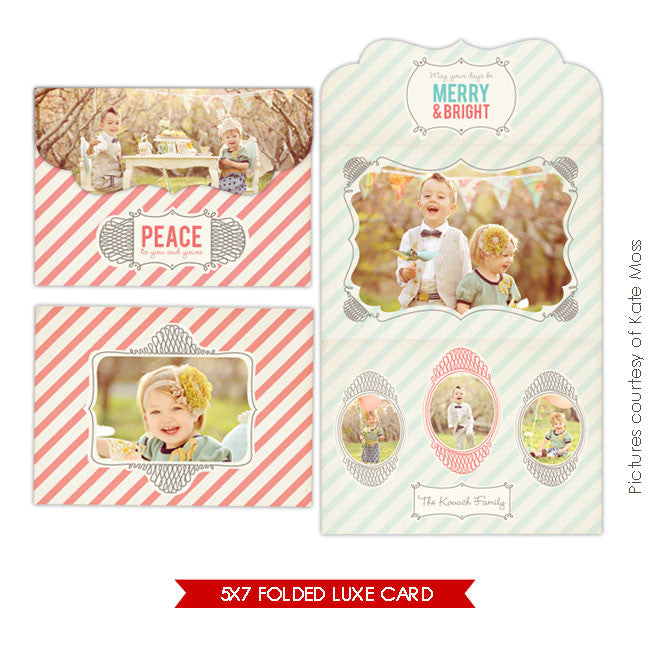 Holiday Ornate Photocard  | Have fun e234