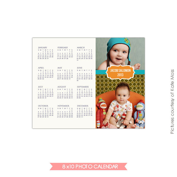 8x10 2015 calendar template | Jacob e190
