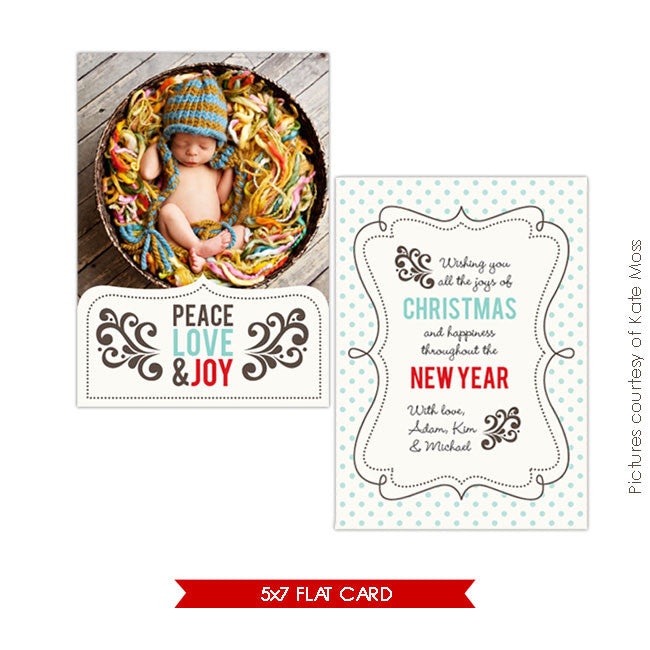 Holiday Photocard | Joyful e203