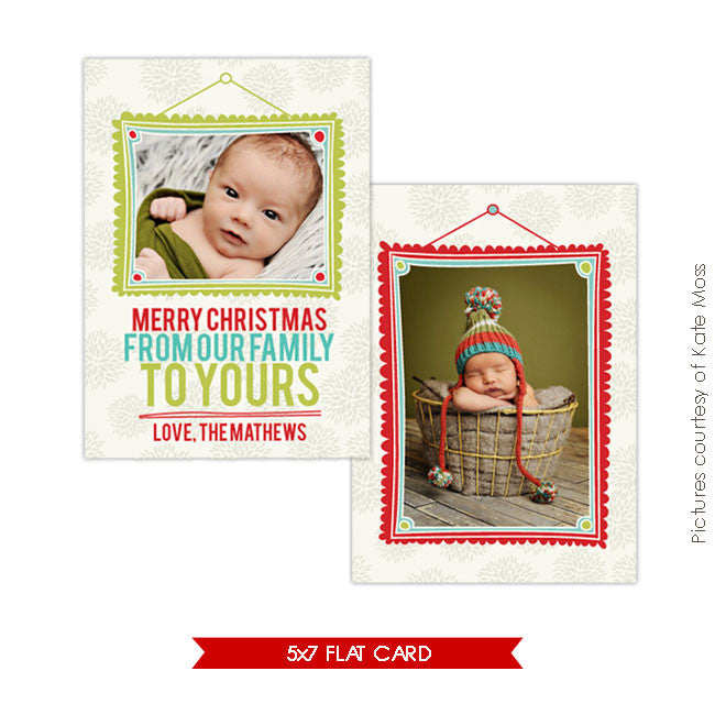 Holiday Photocard | Little Merry e221