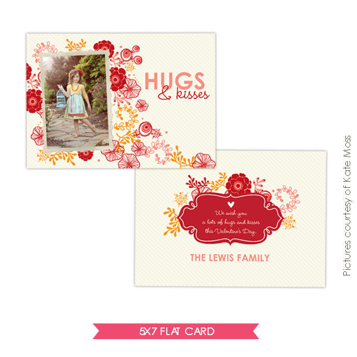 Valentine Photocard Template | Live love e293